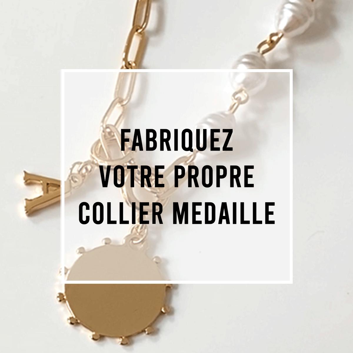 Fabriquez votre propre collier médaille !