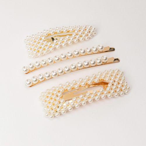 Set de barettes doré
