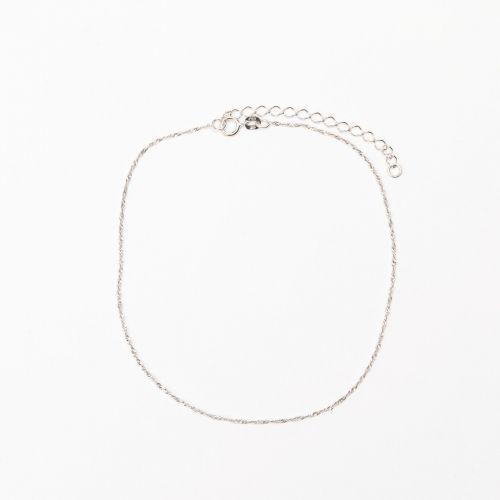 Bracelet de cheville argent sterling Silver Idol