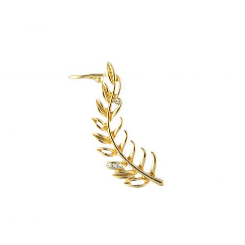 Bijoux d'oreilles dorés Neo Precious