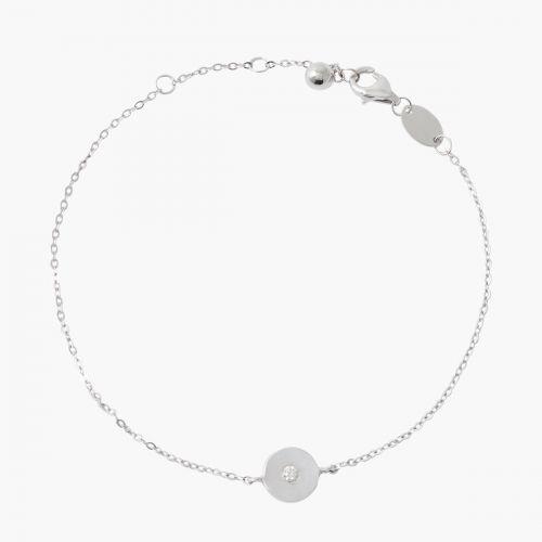 Bracelet Argent Garanti Diamant Precious Diamond