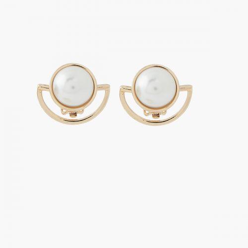 Clips d'oreilles New Pearl dorées