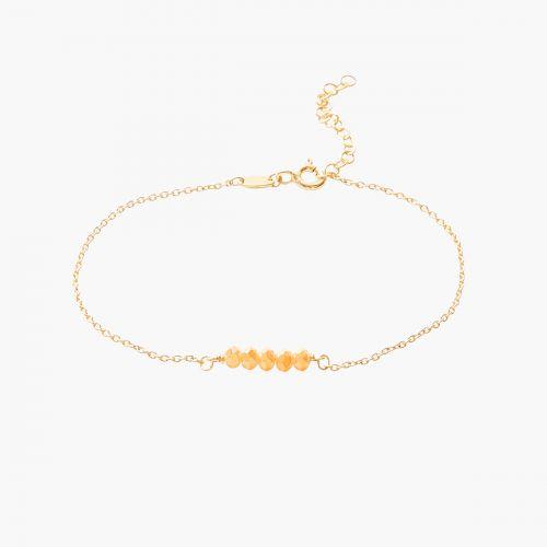 Bracelet perles argent sterling Silver Idol