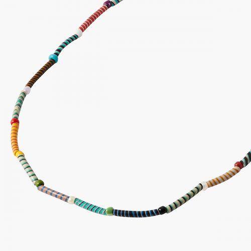 Collier Magic CSAO en plastique recyclé multicolore