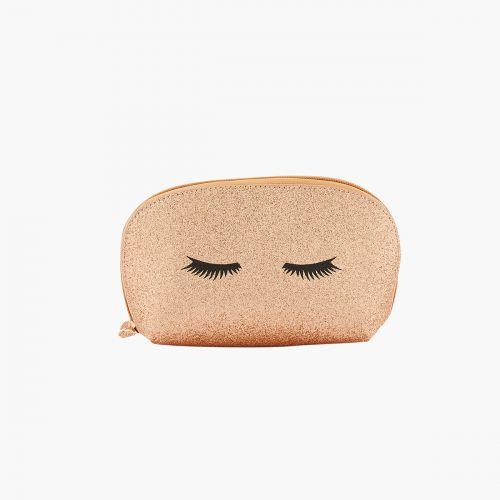 Trousse de maquillage rose