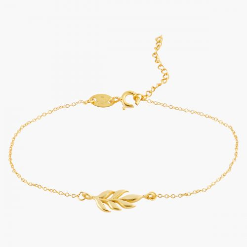 Bracelet fin Argent Garanti doré Silver Idol