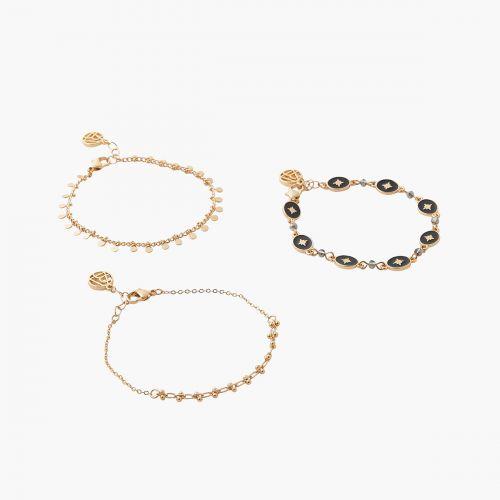 Bracelet Magic Stone doré
