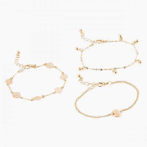 Set de bracelets dorés Neo Precious