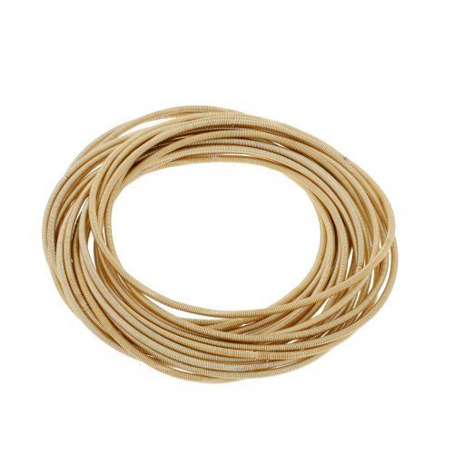 Set de bracelets élastiques doré Gold touch