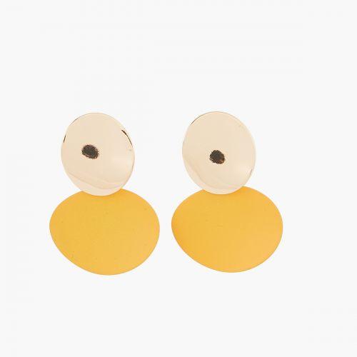 Clips d'oreilles dorés Bar à clips