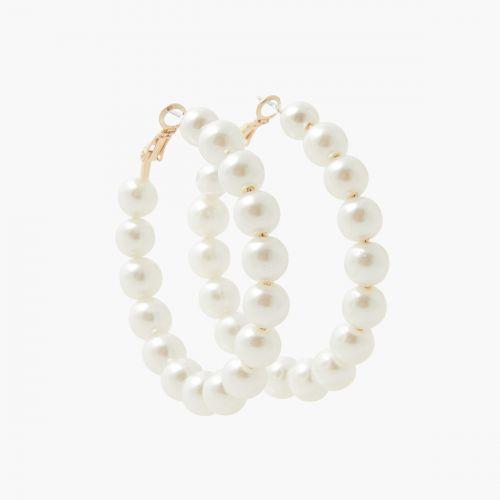 Créoles dorées New Pearl