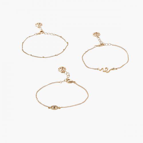 Set de bracelets doré Neo Precious