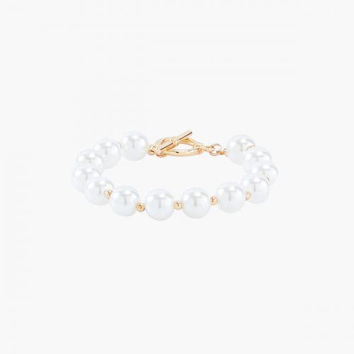 Bracelet fin doré New Pearl