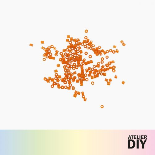 Perles Miyuki orange DIY