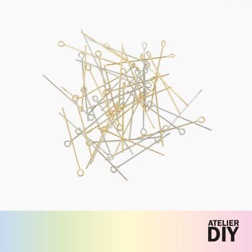 Set de tiges doré/argenté DIY