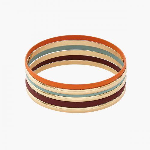 Set de bracelets doré Lima