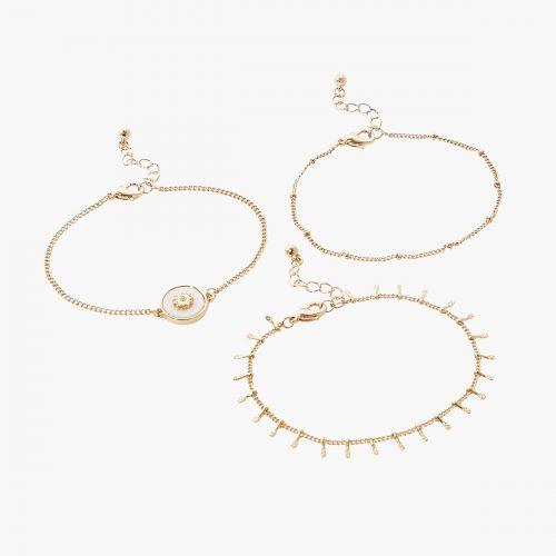 Set de bracelets vert Mystic