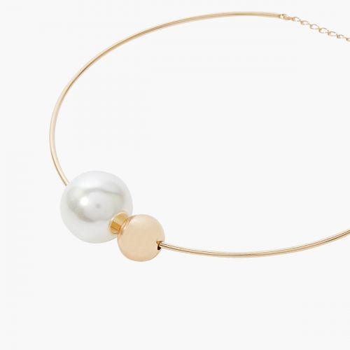 Collier doré New Pearl