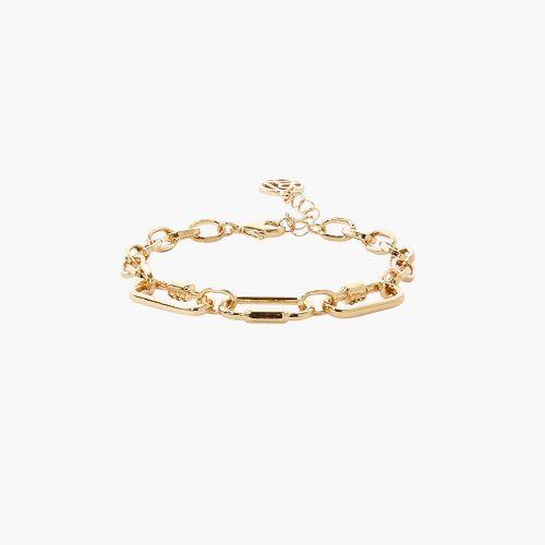 Bracelet doré Bar à chaines