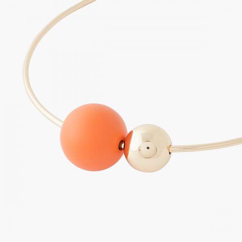 Collier orange Lima