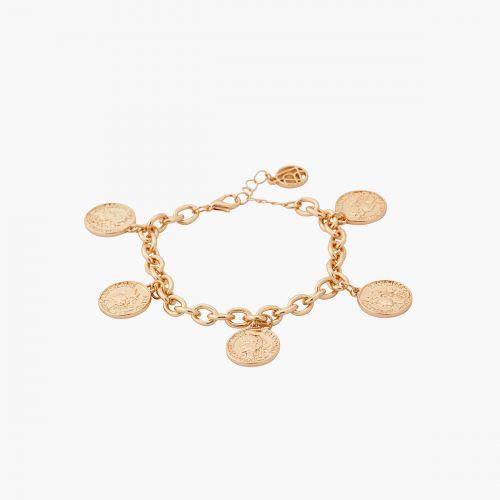 Bracelet doré Murano