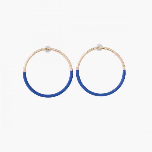 Boucles d'oreilles pendantes bleues City new