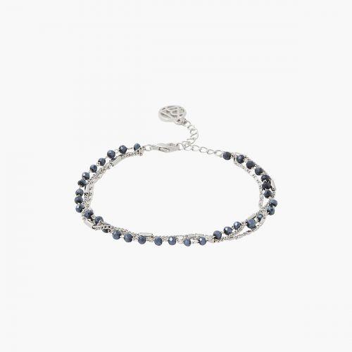 Bracelet argenté Silver touch