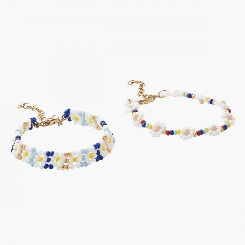 Set de bracelets multicolores Prairie