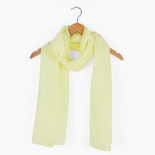 Foulard jaune à paillettes