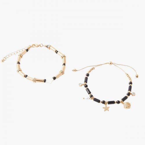 Set de bracelets doré Trendy touch
