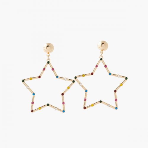 Boucles d'oreilles étoiles à strass Trendy touch