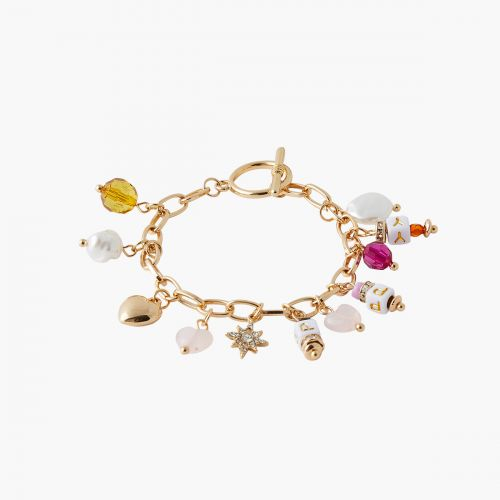 Bracelet perles multicolores Trendy touch