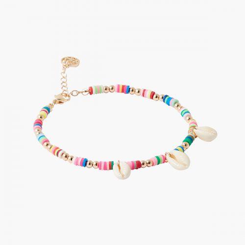 Bracelet de cheville multicolore Goodies