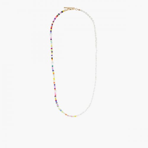 Collier fermoir et perles multicolores Goodies