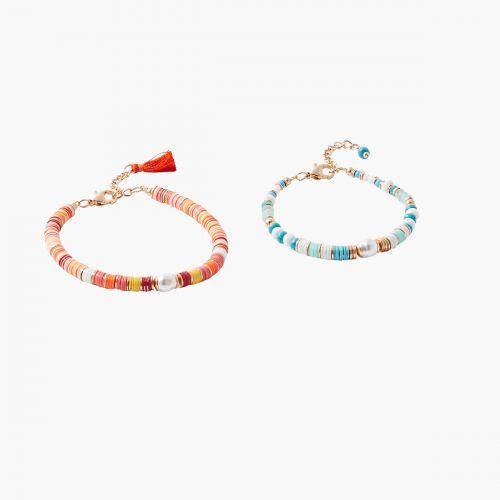 Set de bracelets sequins multicolore Colorfull