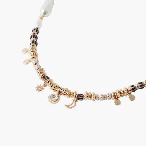 Collier perles et breloques Capsule
