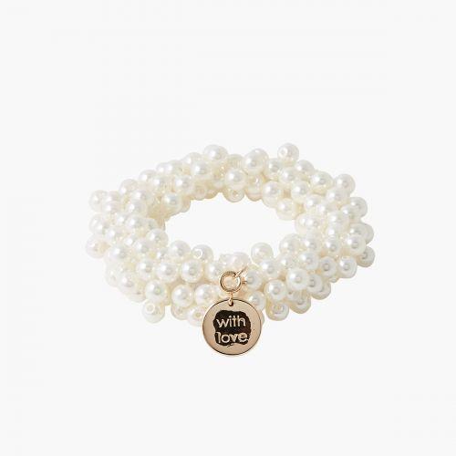 Chouchou perles d'imitation Collab Meryl