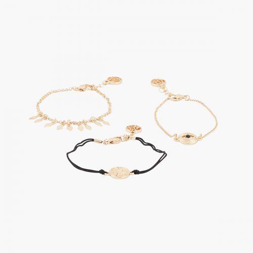 Set de bracelets doré Nomad dreams