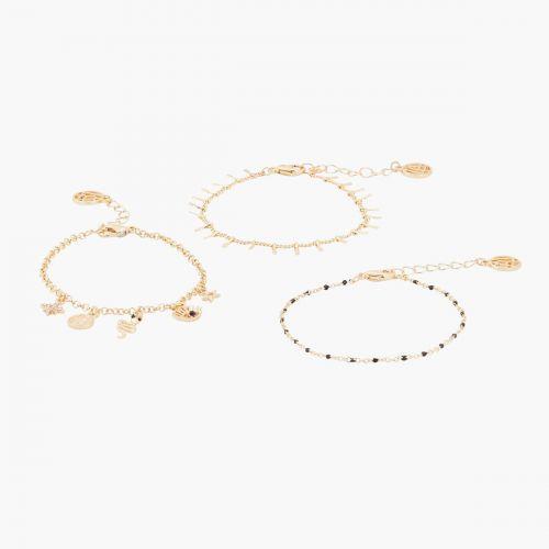 Set de bracelets doré Celestial