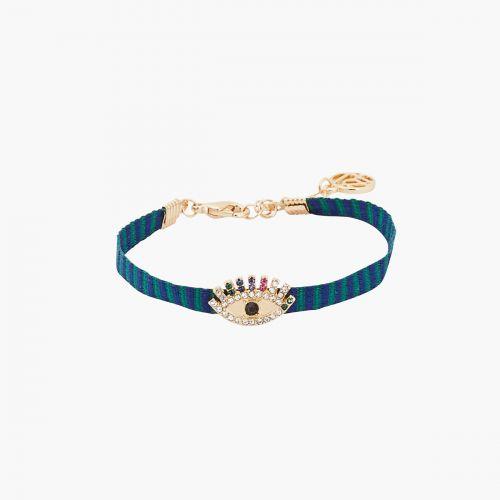 Bracelet bleu Statment