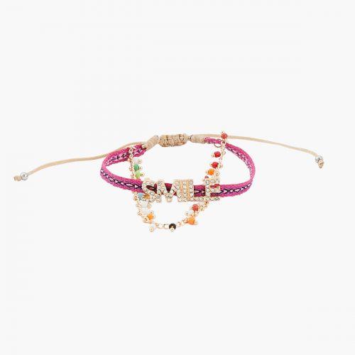 Bracelet multicolore Statement