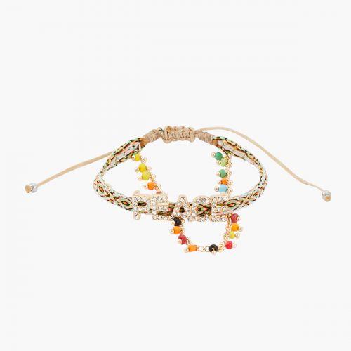 Bracelet multicolore Statment