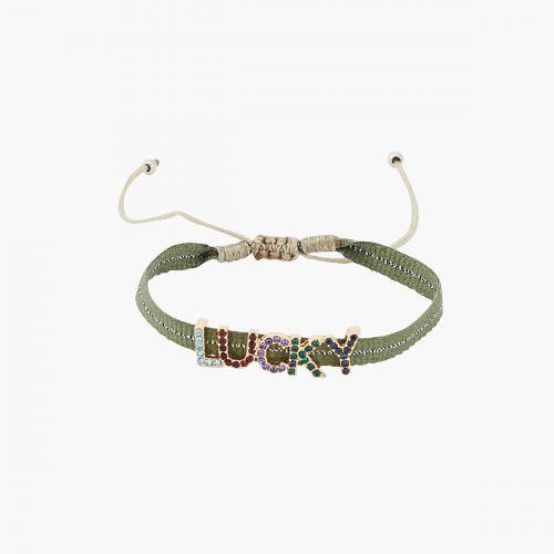 Bracelet vert Statment
