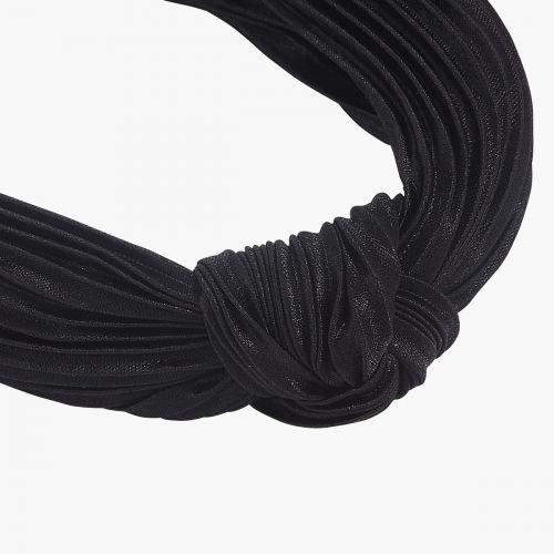 Serre tête noir à noeud