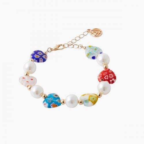 Bracelet multicolore Mineral mix