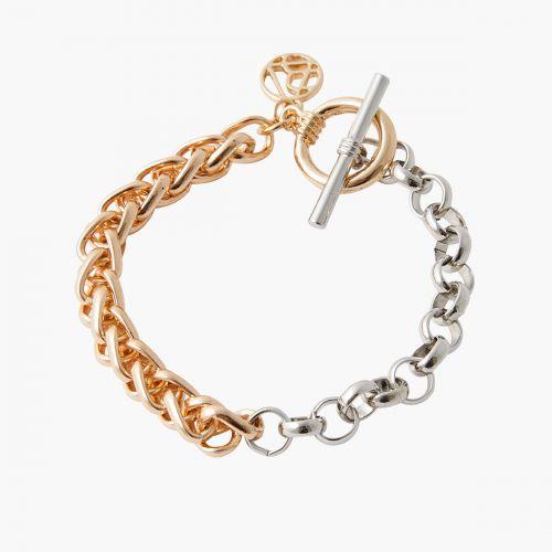 Bracelet doré/argenté Classy novelty