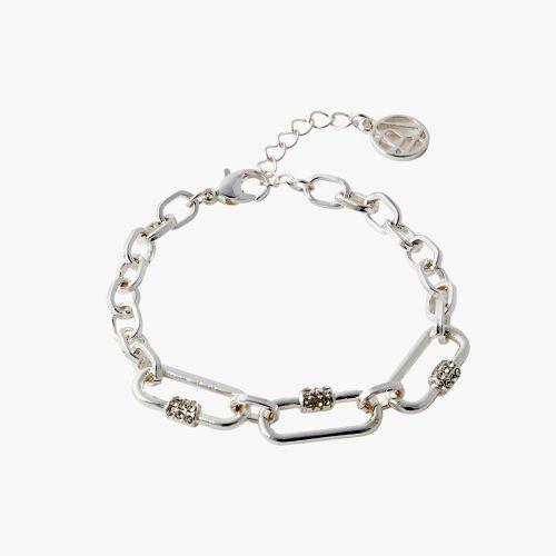 Bracelet argenté Classy novelty