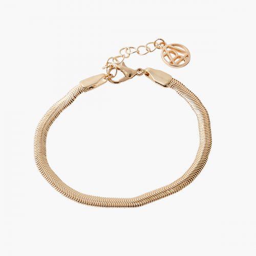 Bracelet doré Paris wtih love
