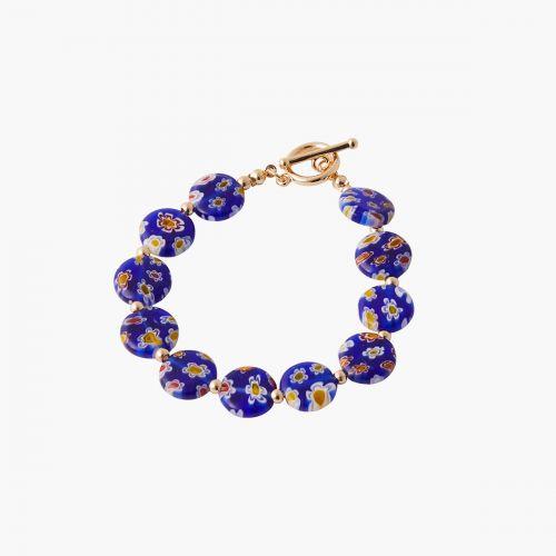 Bracelet bleu Mineral mix