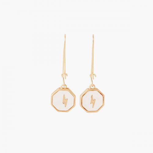 Boucles d'oreilles pendantes dorées Classy novelty